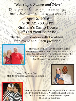 M3 Conference this Saturday, Marriage, Money and More