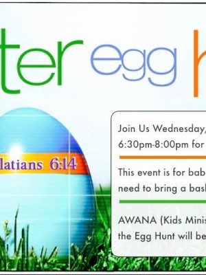 Wednesday@Woodland, AWANA + EASTER EGGS!!!