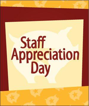 Staff Appreciation, this Sunday!