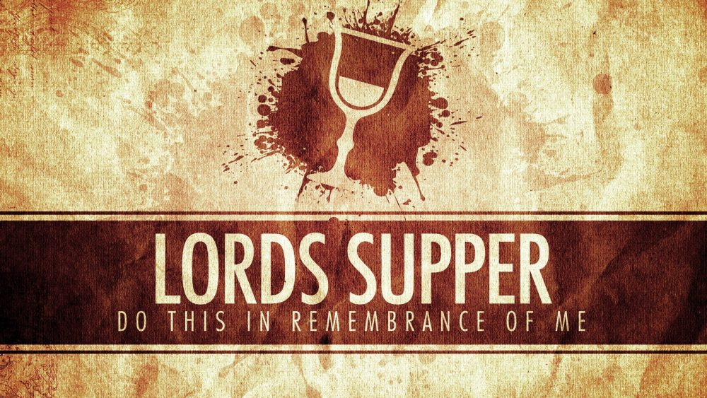 March 25, 2018, Palm Sunday and the Lord's Supper